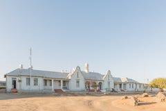 Stazione ferroviaria storica, sviluppata 1928, in Keetmanshoop fotografia stock libera da diritti