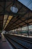 Stazione ferroviaria, Valladolid, Spagna fotografia stock