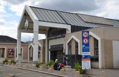 Stazione ferroviaria in Vernon, Francia Immagine Stock