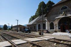 Stazione ferroviaria Yasinia Fotografia Stock Libera da Diritti