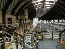 Stazione ferroviaria a York (Inghilterra) Fotografia Stock