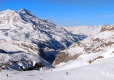 Stazione Francia dello sci di Val d Isere Fotografie Stock
