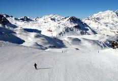 Stazione Francia dello sci di Val d Isere Immagine Stock Libera da Diritti