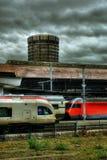Stazione HDR di Basilea Immagine Stock