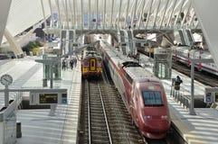 Stazione Liegi-Guillemins Immagine Stock