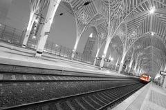 Stazione Lisbona di Oriente fotografia stock libera da diritti