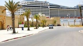 Stazione marittima del porto di La Goletta, Tunisia Fotografie Stock