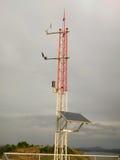 Stazione meteorologica dei dispositivi Fotografie Stock Libere da Diritti