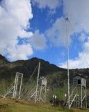 Stazione metereologica ad elevata altitudine Fotografia Stock