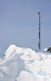 Stazione metereologica alpina Immagini Stock