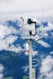 Stazione metereologica dell'Austria Tauplitz Immagine Stock Libera da Diritti