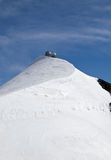 Stazione metereologica di Jungfrau fotografie stock