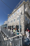 Stazione metereologica di Jungfraujoch, Svizzera Fotografia Stock Libera da Diritti