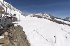 Stazione metereologica di Jungfraujoch, Svizzera Fotografia Stock