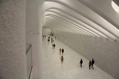 Stazione New York del hub del World Trade Center Fotografia Stock