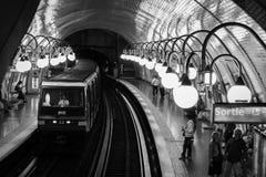 Stazione a Parigi Fotografie Stock Libere da Diritti