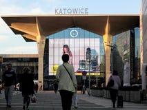 Stazione principale di Katowice fotografia stock