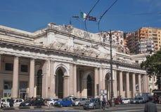 Stazione Principe Genoa Stock Image