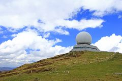 Stazione radar per navigazione aerea Immagini Stock