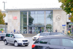 Stazione Rosenheim di DB Fotografia Stock