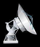 Stazione satellite illustrazione di stock