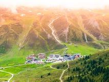 Stazione sciistica alpina Kuthai nella stagione estiva Immagine Stock Libera da Diritti