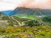 Stazione sciistica alpina Kuthai nella stagione estiva Immagini Stock