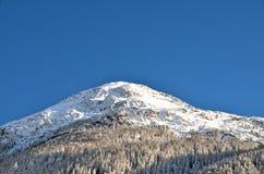 Stazione sciistica alpina a Solden nelle alpi di Otztal, Tirolo, Austria Immagine Stock Libera da Diritti