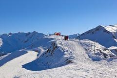 Stazione sciistica cattivo Gastein - Austria delle montagne Fotografia Stock Libera da Diritti