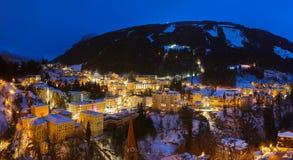Stazione sciistica cattivo Gastein Austria delle montagne Fotografia Stock