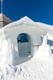 Stazione sciistica cattivo Gastein in montagne nevose di inverno, Austria, terra Salisburgo Immagine Stock Libera da Diritti