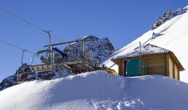 Stazione sciistica Chimbulak Immagine Stock