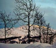 Stazione sciistica di Hemsedal, Norvegia Fotografie Stock Libere da Diritti