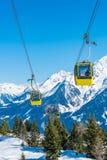Stazione sciistica di Mayrhofen, Austria Immagini Stock Libere da Diritti