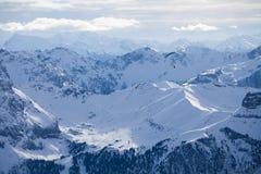 Stazione sciistica di Val di Fassa Carezza in alpi Fotografia Stock Libera da Diritti
