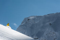 Stazione sciistica olimpica, Krasnaya Polyana, Soci, Russia Immagine Stock Libera da Diritti