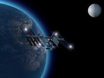 Stazione Spaziale Internazionale Fotografia Stock
