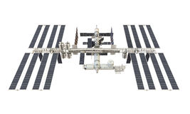 Stazione Spaziale Internazionale isolata royalty illustrazione gratis