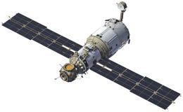 Stazione Spaziale Internazionale Modulo Zvezda Immagine Stock Libera da Diritti