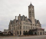 Stazione storica Nashville del sindacato Immagine Stock Libera da Diritti