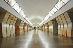 Stazione Sukharevskaya in metropolitana di Mosca Fotografia Stock Libera da Diritti