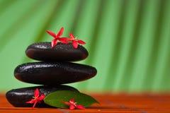 Stazione termale & di massaggio vita ancora: Fotografie Stock