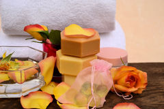 Stazione termale, aromaterapia Fotografia Stock