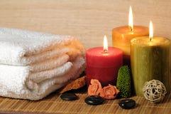 Stazione termale aromatherapy Immagini Stock Libere da Diritti