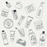 stazione termale dei prodotti di vita di cura del corpo ancora Immagini Stock