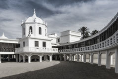 Stazione termale del Caleta - Cadice - la Spagna Fotografia Stock