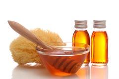 Stazione termale del miele Fotografia Stock