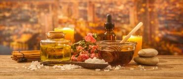 Stazione termale dell'aroma immagini stock libere da diritti
