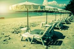Stazione termale della spiaggia dal mare Fotografia Stock Libera da Diritti