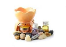 Stazione termale di aromaterapia Fotografie Stock